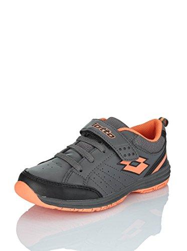 Lotto-Setace Klettverschluss, grau/orange, Schuhe multisport Grau - grau