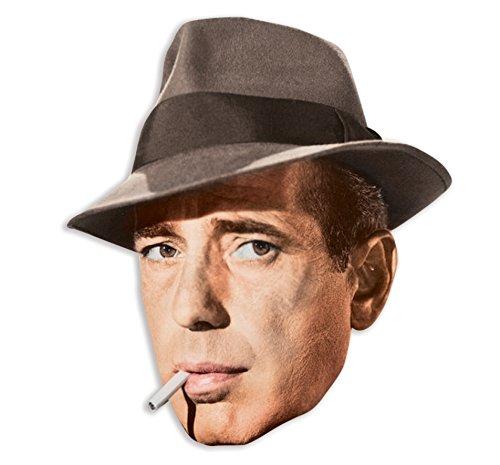 Star Cutouts Bedruckte Gesichtsmaske von Humphrey Bogart Preisvergleich