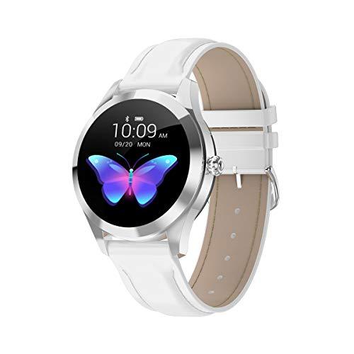 HKPLDE Smartwatch Damen/Aktivitätstracker Farbbildschirm mit Pulsmesser Touchscreen Schlafüberwachung / 9 Sportuhr Kalorienzähler für iOS Android-D