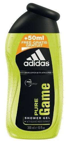 Adidas Pure Game Shower Gel Pro Energy for Men, 250 ml/ für den richtigen Frischekick!
