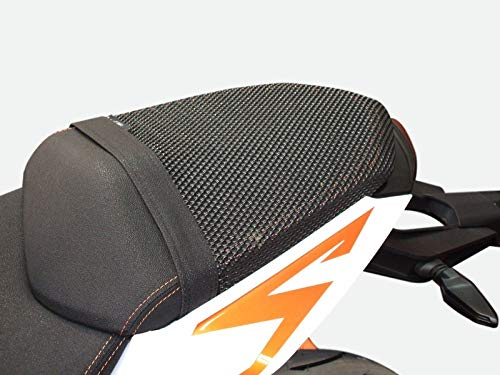 Triboseat Coprisella Passeggero Asseggero Antiscivolo Nero compatibile con Ktm 1290 Super Duke R (2013-2019)
