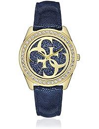 Guess para mujer-reloj analógico de cuarzo cuero W0627L2