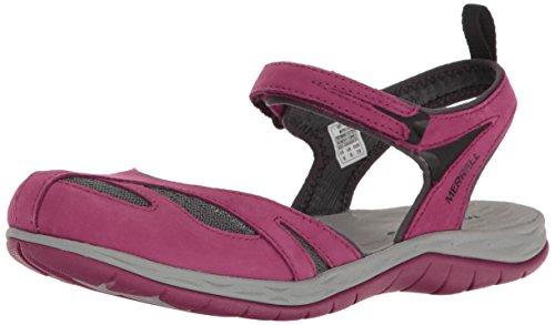 Merrell Siren Wrap Q2 Womens Sandals Beet Red