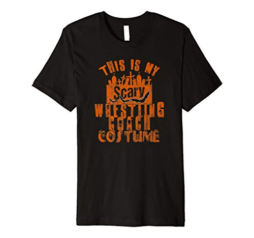 This Is My Scary Wrestling Coach TShirt Halloween-Kostüm