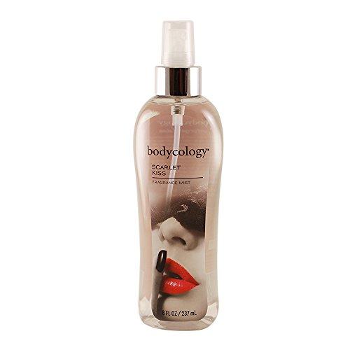 Scarlet Kiss für Frauen von Bodycology Fragrance Mist 8 oz -
