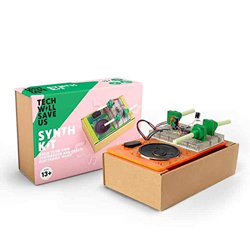 Tech Will Save Us, Synth Kit, Lernspielzeug, Musik-Synthesizer-Bausatz, ab 10 Jahren