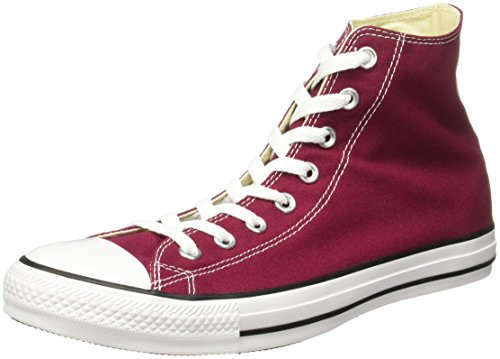 Converse All Star Hi Canvas Sneaker, Unisex Adulto, Bordo (Bordeaux), 39