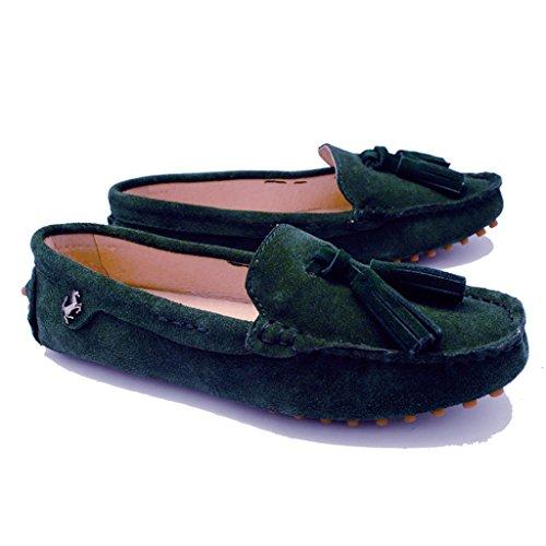 Meijili , Sandales Plateforme femme Emerald Green