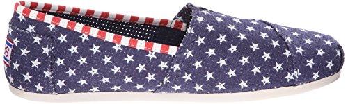 Bobs De Skechers en peluche Lil Americana Flat Navy Little Stars
