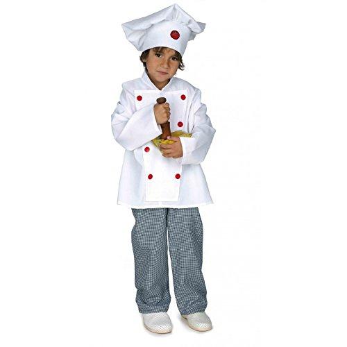 Imagen de disfraz cocinero infantil. talla 5/6 años.