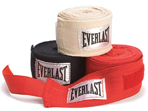 """Everlast 120"""" Hand Wraps (Pack of 3)"""