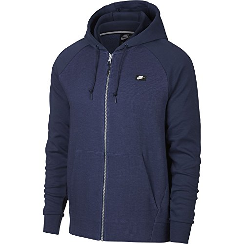 Nike Herren Full-Zip Optic Kapuzenjacke Heather/Midnight Navy, S Preisvergleich