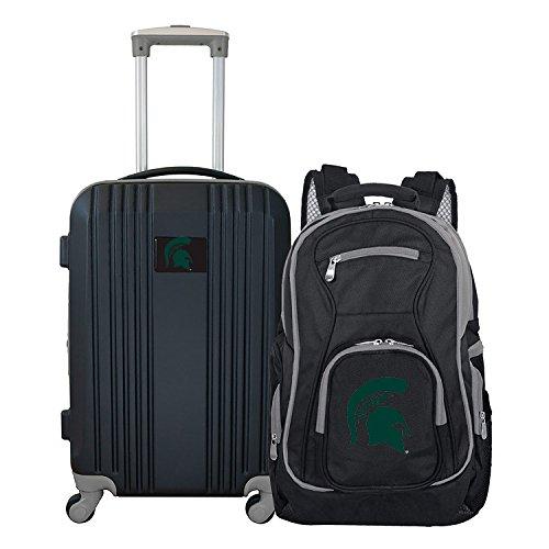 Michigan Trolley (DENCO NCAA Michigan State Spartans 2-Piece Luggage Set)
