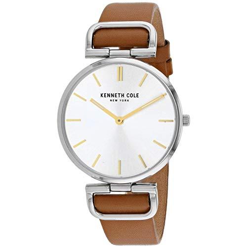 Kenneth Cole Classic Reloj de Mujer Cuarzo 36mm Correa de Cuero KC50509007