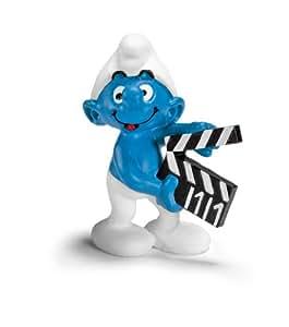 Schleich - 20710 - Figurine - Schtroumpf Clap de cinéma