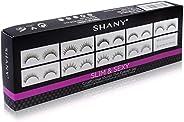 SHANY Cosmetics Eyelash Extend Assorted Reusable Eyelashes, 3.6 Ounce