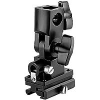 Neewer® Flash staffa supporto per ombrello tipo B per Canon 430EX II, 580EX II, Nikon SB600SB800, Youngnuo YN560, YN565, Neewer TT560, TT680, TT850e altri Flash con Universale Hotshoe (due pezzi)