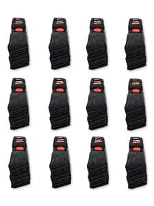 10 Paar Tennissocken Sportsocken Arbeitssocken Anthrazit - Damen & Herren - 35-38