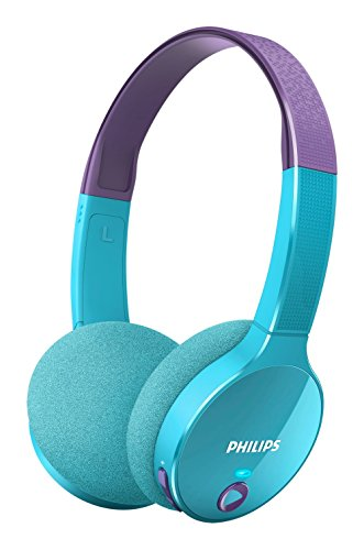 Philips SHK4000TL Casque audio enfant Bluetooth...