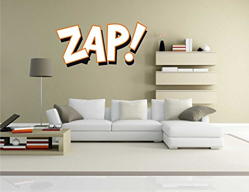 Wandtattoo Comic 108 – Lustiges Motiv Zap! – Wandaufkleber