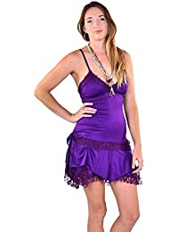 Psy Trance Clothing Goa Boho Festival Fae Mini Dress Corset Back Pixie Dress
