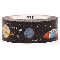 Cinta adhesiva decorativa washi de mt con espacio universo galaxia