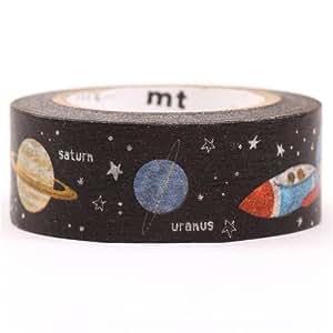 Nastro coprente mt Washi decorativo galassia spazio universo