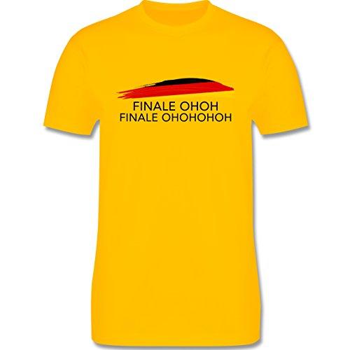 EM 2016 - Frankreich - Deutschland Finale OHOH - Herren Premium T-Shirt Gelb