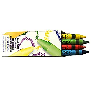 20 Packs of Wax Crayons with 4 Wax Crayons per Pack