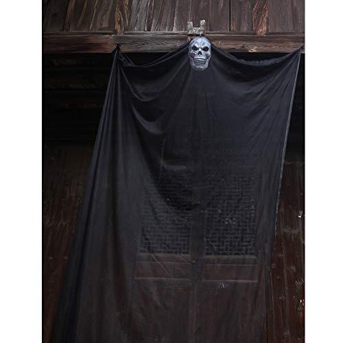 Alexis Halloween Props Hängende Geist Dekorationen Skeleton Flying Ghost für Terror Theme Party Scary Skull