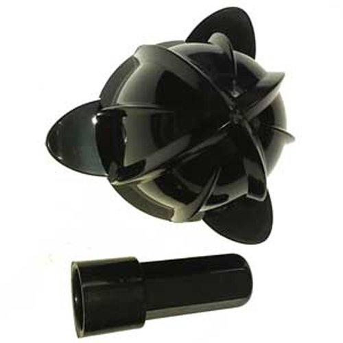 LACOR R69285A Juego de Cono y Inserto de Repuesto para Exprimidor con Brazo, Negro, 30x30x30 cm