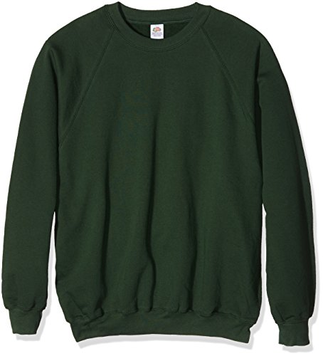 Fruit of the Loom Herren, Sweatshirt, Raglan Sweatshirt SS024M