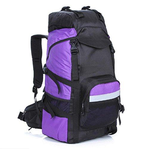 Outdoor zaino alpinismo, escursionismo borse, zaini da campeggio grande capacità, sia uomini che donne, 45 l, nylon, impermeabile e traspirante , c c