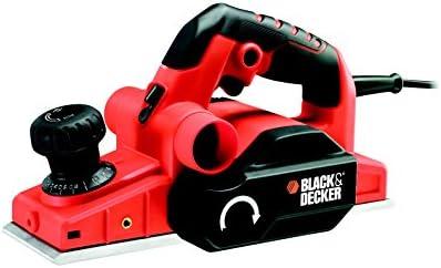 Black+Decker KW750K-QS - Cepillo 750W Profundidad de reabje 0-12mm, maletín