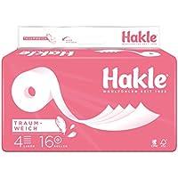 """Hakle Toilettenpapier """"Traumweich"""" 4-lagig, 1er Pack (1 x 16 Stück)"""