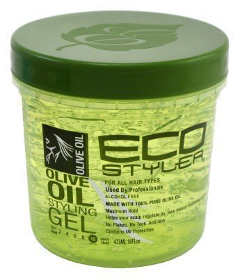 Eco Styler Olive Oil Styling Gel -12oz (Pack of 3) by Eco (English Manual)