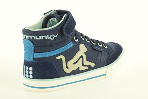 Drunknmunky Real Turnschuhe BOSTON B & G 15SS WON Deep Blue