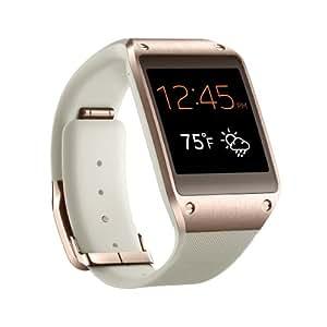 Samsung Galaxy Gear SM-V700 Smartwatch, Ecran AMOLED 1.63 pouces, Android, Appareil photo et vidéo, Bluetooth, Rose Or (compatible Note 3 et S4 uniquement)