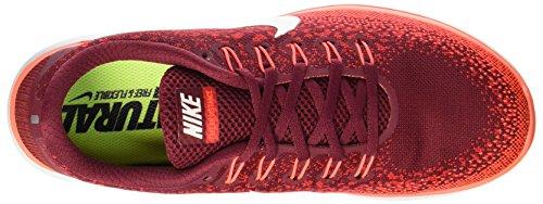 Nike Free Rn Distance, Scarpe da Corsa Uomo Rojo (Team Red / Off White-University Red)