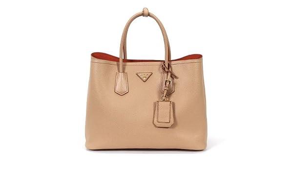 21287f9745e1 Prada Saffiano leather tote-HAZELNUT last one in stock