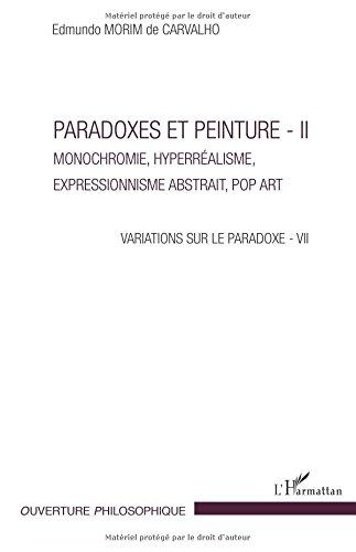 Paradoxes et peintures - II