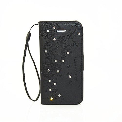 "ANNNWZZD Apple iPhone 7 Plus 5.5"" Wallet Tasche Hülle - Ledertasche im Bookstyle - [Ultra Slim][Card Slot] Handyhülle Flip Wallet Case Etui für Apple iPhone 7 Plus 5.5"",A01 A06"