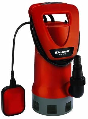 Einhell Schmutzwasserpumpe RG-DP 8535 (850 W, max. 17000 l/h, max. Förderhöhe 9 m, Fremdkörper bis 35 mm, stufenlos einstellbarer Schwimmschalter)
