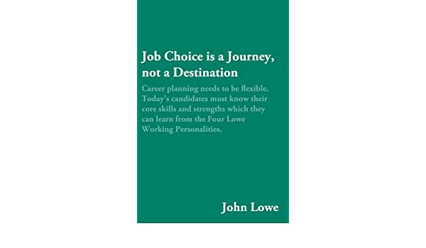 Career is a Journey, Not a Destination - CareerXperts Consulting