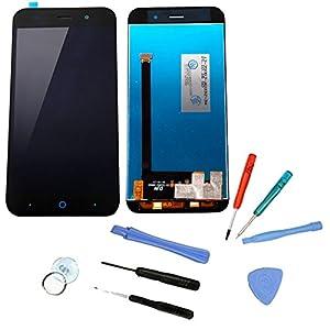 """Schwarz LCD Display Touchscreen Ersatz Front Glas Reparatur Digitizer + WERKZEUG Für ZTE Blade V6 5"""" L6 D6 E503"""