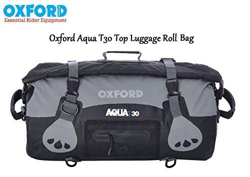 OXFORD Motorrad AQUA TOP T30, wasserdicht, Touring Motorrad-Koffer, mit 30 l Fassungsvermögen