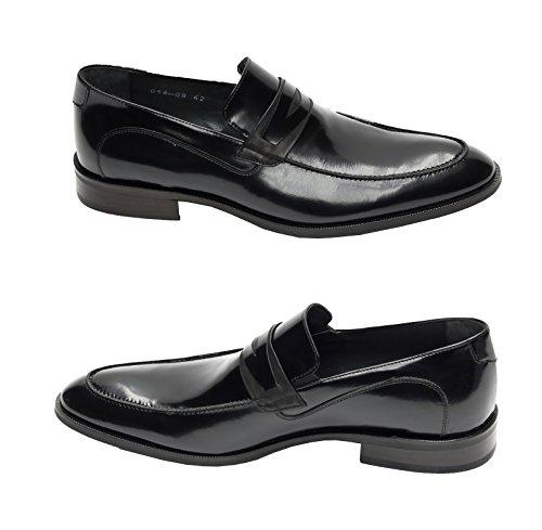 Preto Homens Sapatos Muga Chinelo Negócio gngxITO