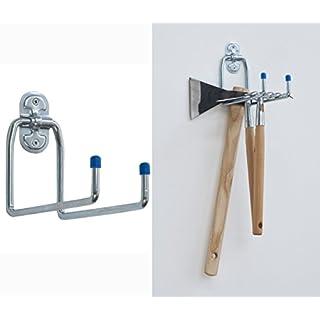 aldeghi Luigi Hook Galvanised Double U mm. 180x 50Art. 4050Art. 4050Steel. Wire Diameter 9mm 180mm Spout Reach Pack of 105kg