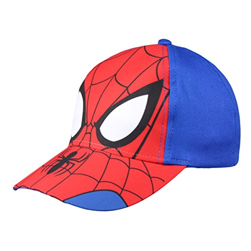 Kinder Basecap Spiderman Super Helden 51/53 Blau Schirmmütze Baseball Cap original...