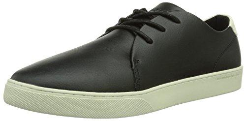 WeSC Delford, Low-Top Sneaker uomo, Nero (Schwarz (black/999)), 45 EU (10.5 Herren UK)